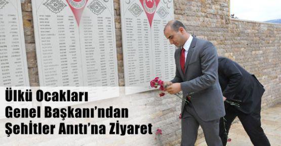 Ülkü Ocalarından Şehitler Anıtına Ziyaret