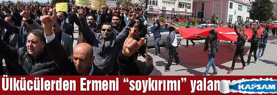 """Zonguldak Ülkücüleri """"soykırım"""" yalanına Tepki gösterdi"""