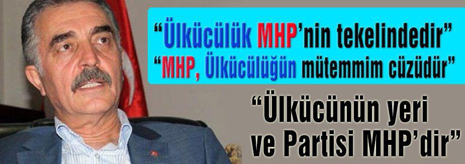 Ülkücülük MHP'nin tekelindedir