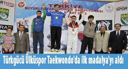 Ülküspor Taekwondo'da ilk madalya'yı aldı