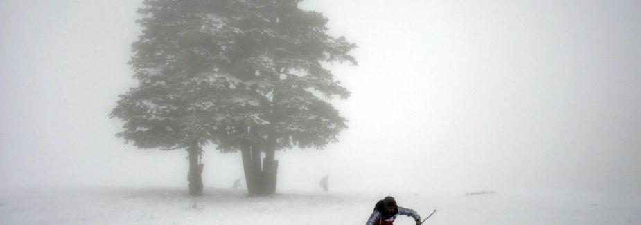 Uludağ'a kar yağdı...