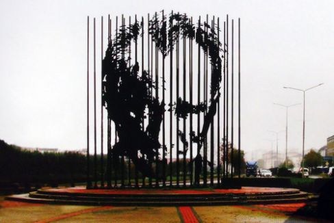 Ümraniye'de Atatürk anıtı gerginliği