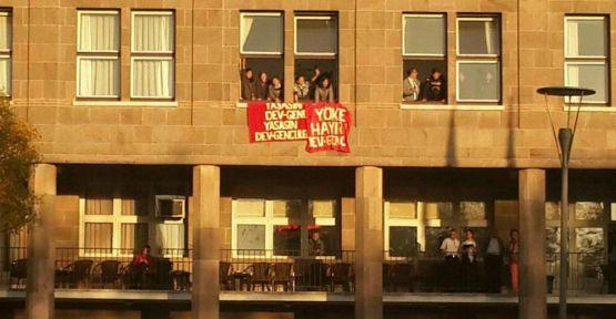 Üniversite işgal edildi...
