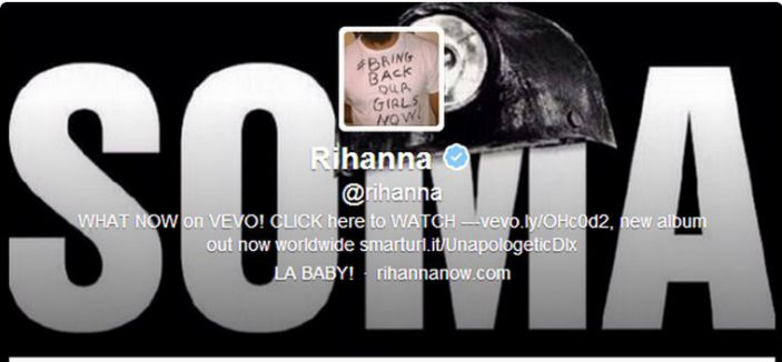 Ünlü Şarkıcı Rihanna, Soma'yı twitter'de kapak yaptı