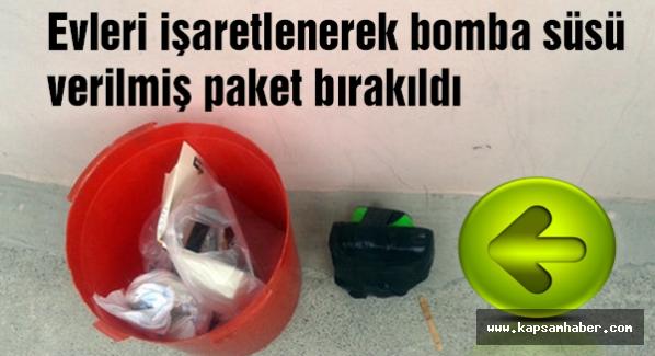 Üsküdar'da Alevilerin evleri işaretlendi kapılarına bomba...
