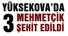 Yüksekova'da PKK askerlerimize kahpece saldırdı
