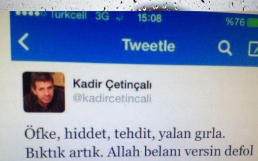 Vatan Yazarından Erdoğan'a çok ağır sözler