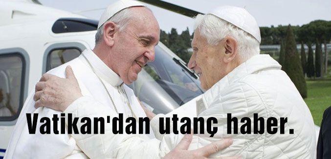 Vatikan'dan utanç haber...