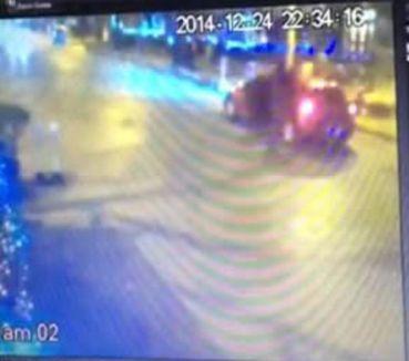 Vedat Şahin'in vurulma anı kamerada