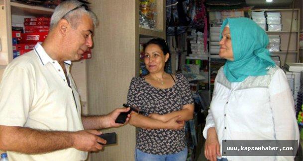 Vefalı Esnafa, Şehit Ailelerinden Teşekkür Ziyareti