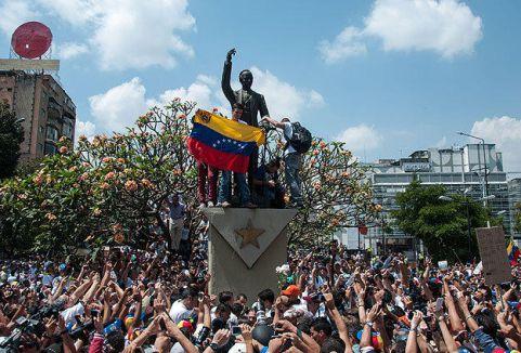 Venezuela'da şiddet olayları