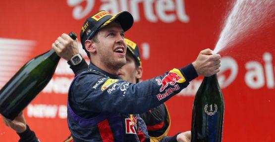 Vettel 4. kez şampiyon