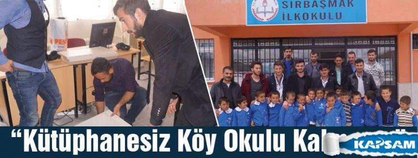 """Vezirköprü Ülkü Ocakları """"kütüphanesiz köy kalması..."""""""