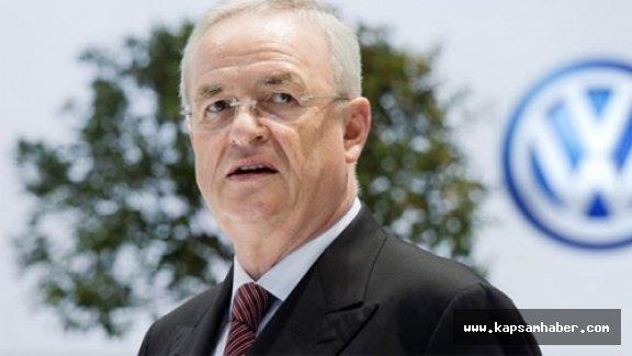 Volkswagen CEO'su baskılara dayanamadı