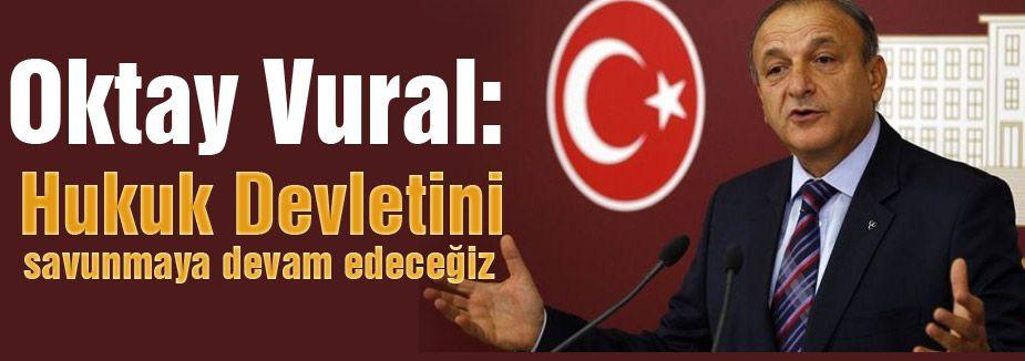 Vural: AKP ve HDP arasında paket konusunda pazarlık devam ediyor