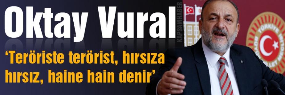 Vural'dan Cumhurbaşkanı Erdoğan'a Ağır Cevap
