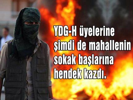 YDG-H CİZRE'DE HENDEK KAZMAYA BAŞLADI