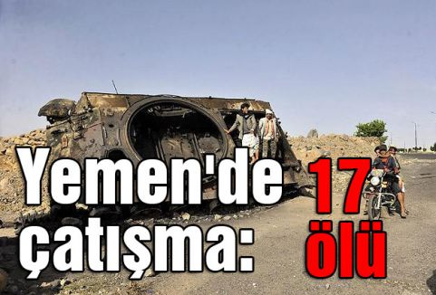 Yemen ordusu ve Husiler arasında çatışma