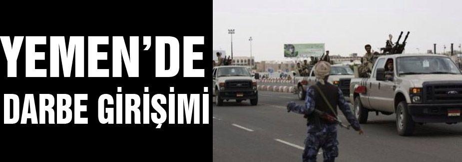 Yemen'de darbe girişimi