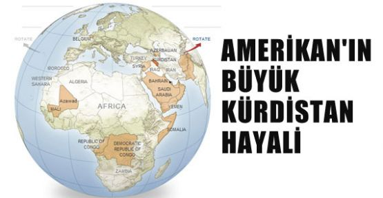 Yeni Dünya Haritasında Kürdistan Skandalı