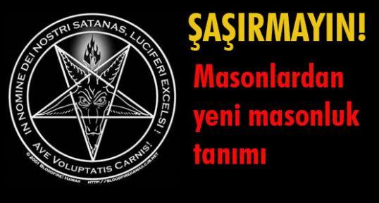 Yeni mason tanımı...