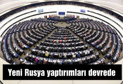 Yeni Rusya yaptırımları devrede
