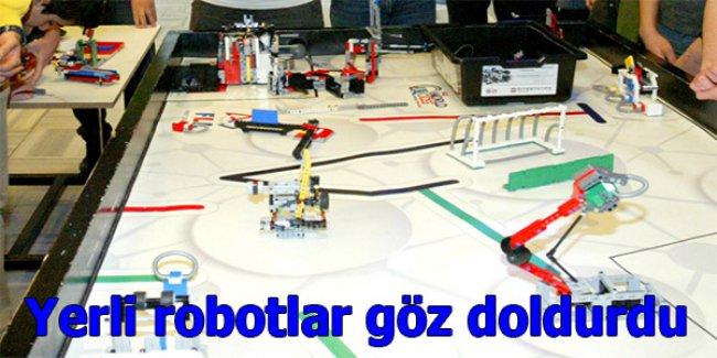 Yerli robotlar göz doldurdu