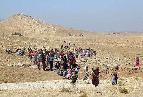 Yezidilerin yolculuğu sürüyor...