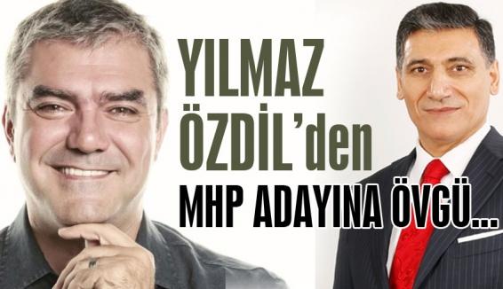 Yılmaz Özdil, MHP adayını öve öve bitiremedi