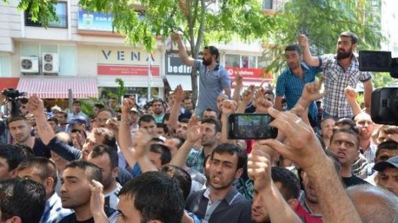 YÖK protestosunda arbede ve müdahale