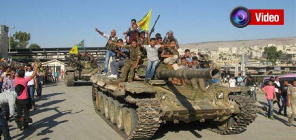 YPG Suriye ordusuna ait beş tank ele geçirdi
