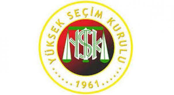 YSK, Genel Seçimler'e girecek partileri belirledi