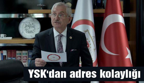 YSK'dan adres kolaylığı