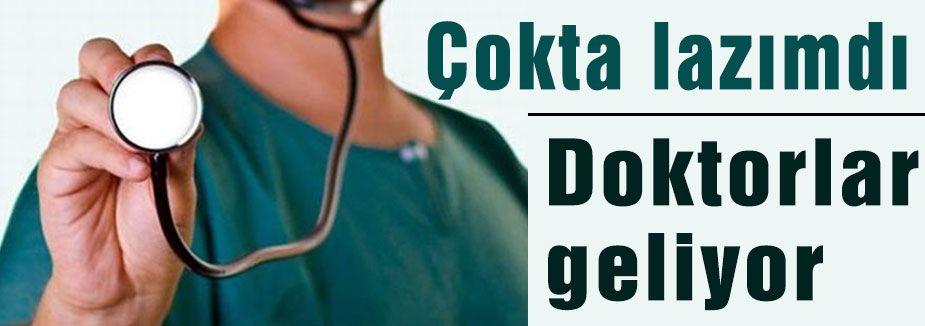 Yunanistan'dan ithal doktorlar...