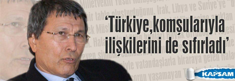Yusuf Halaçoğlu dış politikayı ağır sözlerle eleştirdi