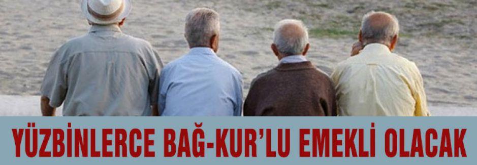 Yüzbinlerce kişi emekli oluyor...