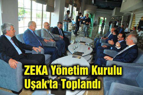 ZEKA Yönetim Kurulu Uşak'ta Toplandı