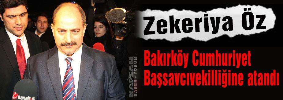 Zekeriya Öz'ün görev yeri değişti...