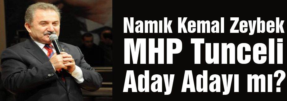 Zeybek MHP'den aday mı?