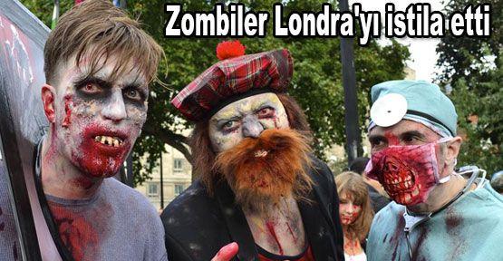 Zombiler Londra'yı istila etti