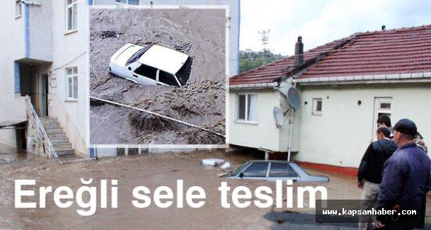 Zonguldak Ereğli sele teslim