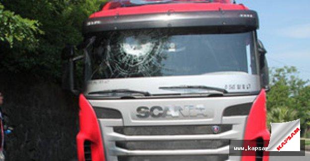 Zonguldak'ta gece 7 aracın camları kırıldı