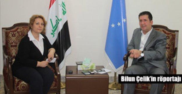 Kerkük/Irak Türkmen Cephesi Sözcüsü Ali Mehdi