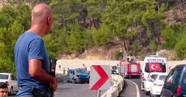 antalya'da askeri araca pusu