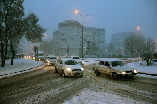 edirne'de kar tatili var mi