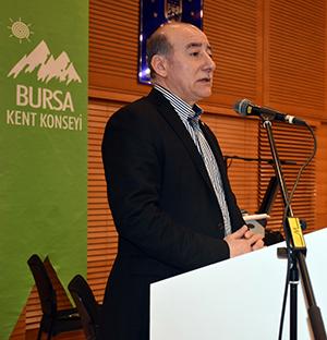 Bursa Kent Konseyi Başkanı Hasan Çepni