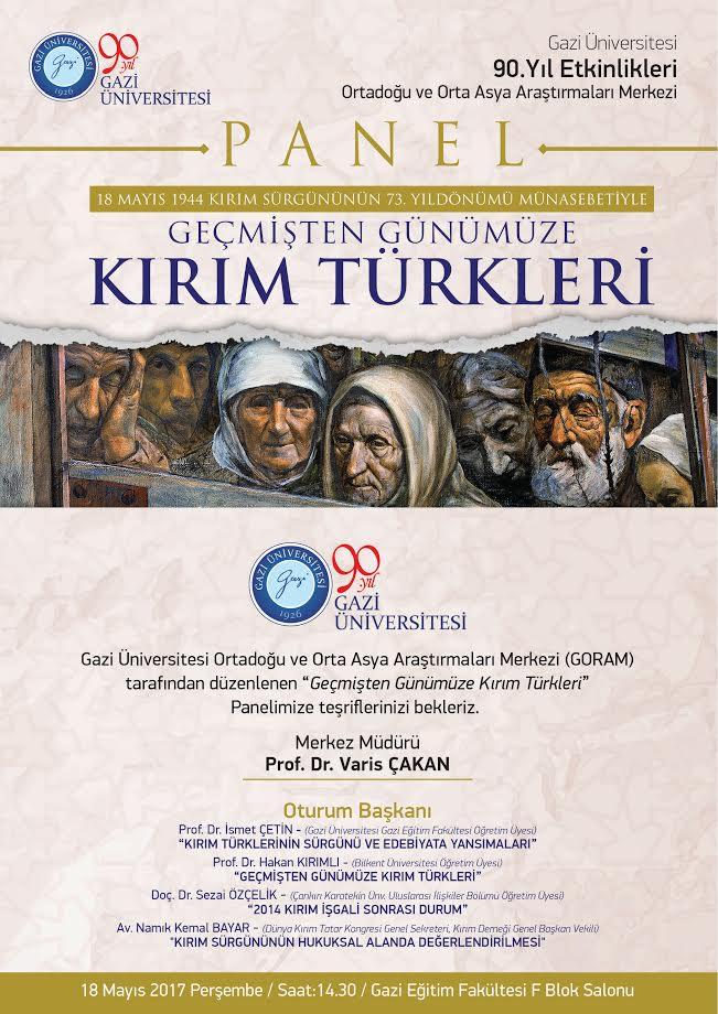 """Geçmişten Günümüze Kırım Türkleri"""""""