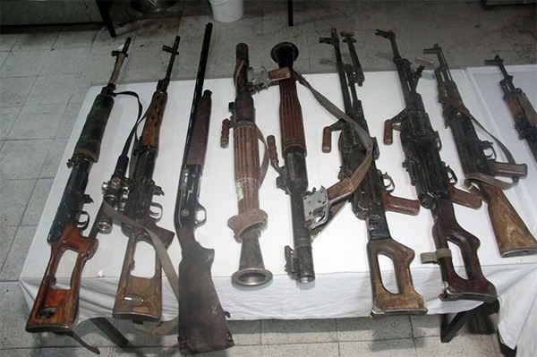 pkk silahlari