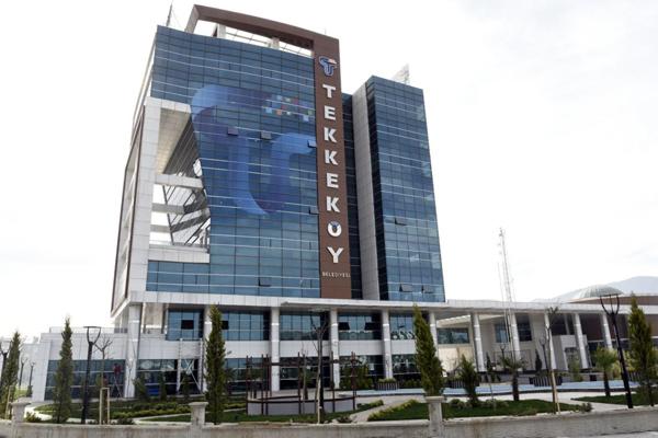 tekkekoy yeni belediye binasi