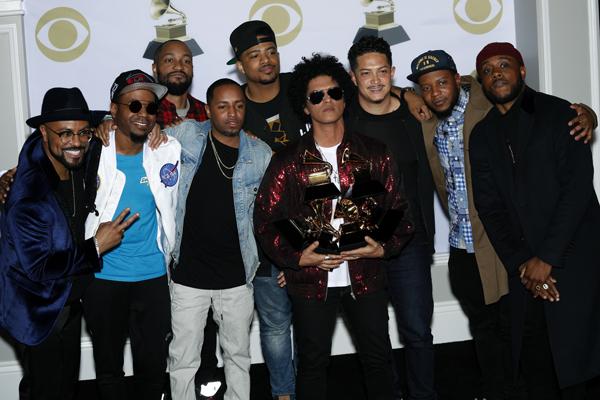 Bruno Mars, Grammy odülleri'